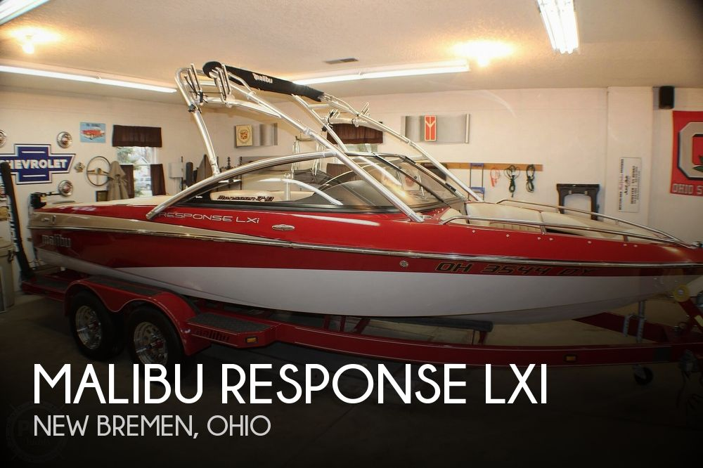 Used MALIBU Boats For Sale in Ohio by owner   2006 20 foot Malibu Response LXI
