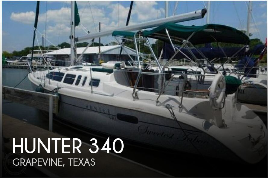 Used Sailboats For Sale in Texas by owner | 2002 Hunter 340