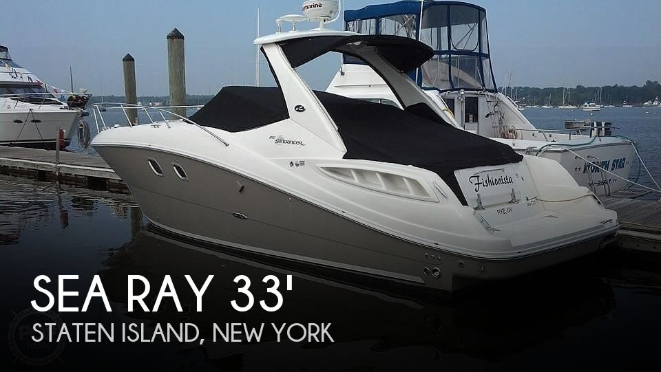 Used Sea Ray Boats For Sale in New York by owner | 2008 Sea Ray 310 Sundancer