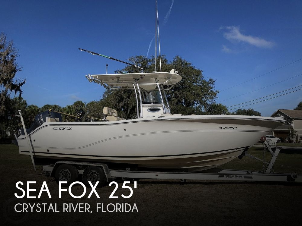 2014 Sea Fox boat for sale, model of the boat is 256 Commander & Image # 1 of 40