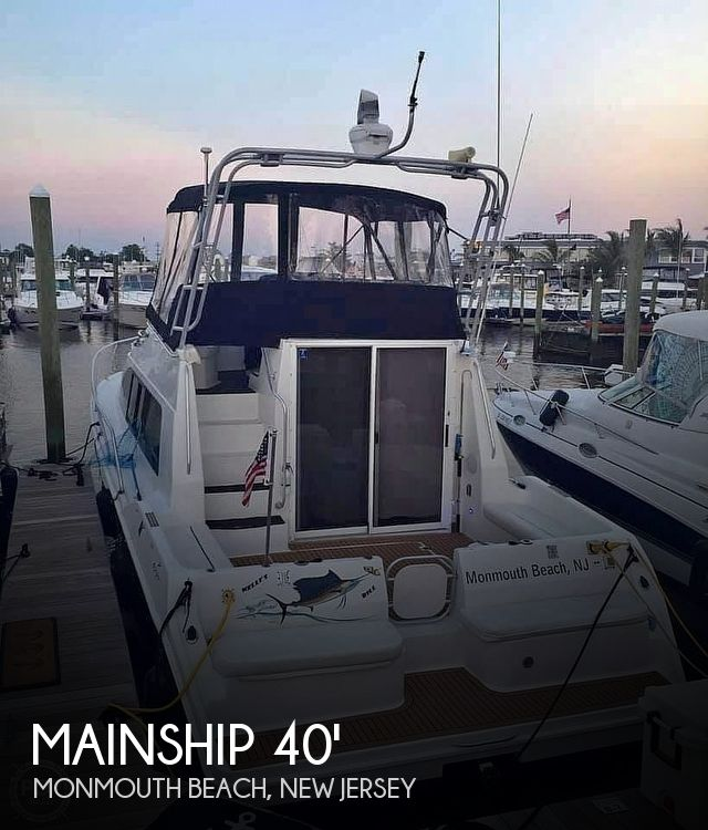 Used Mainship Boats For Sale by owner | 1994 40 foot Mainship Sedan Bridge