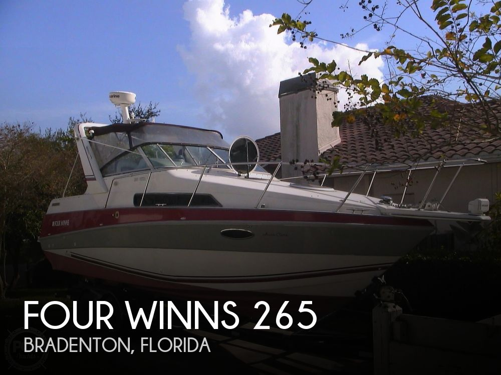 1991 Four Winns boat for sale, model of the boat is 265 Vista & Image # 1 of 40