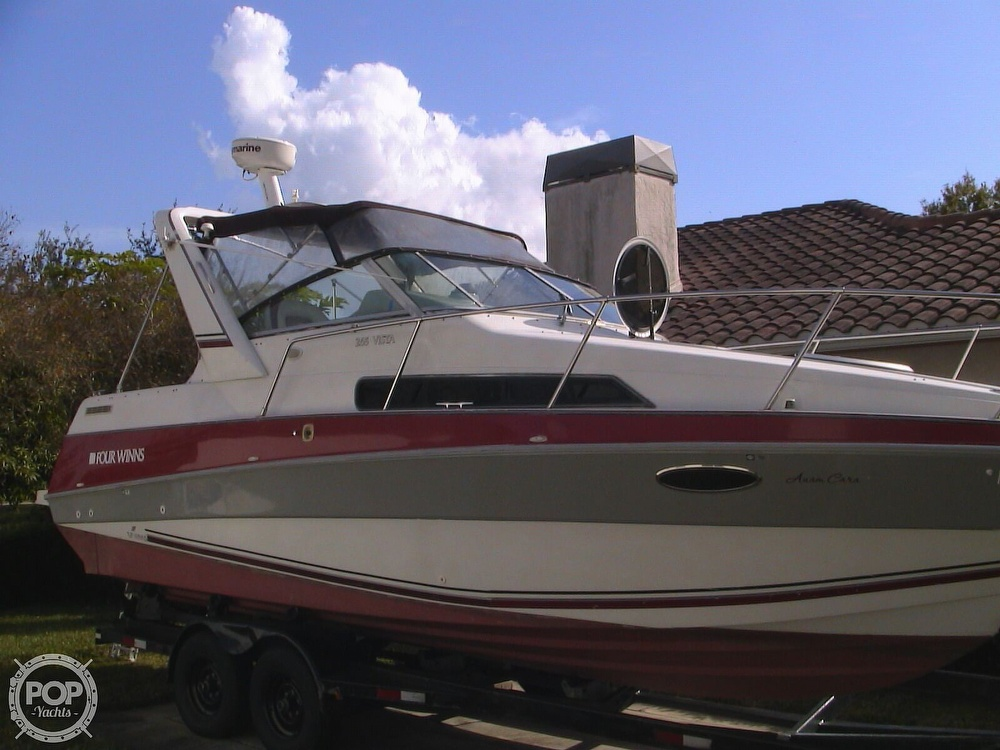 1991 Four Winns boat for sale, model of the boat is 265 Vista & Image # 8 of 40