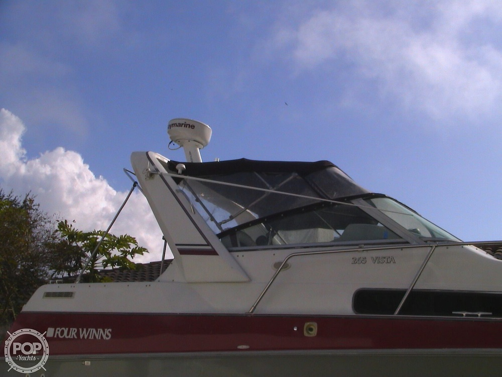 1991 Four Winns boat for sale, model of the boat is 265 Vista & Image # 11 of 40
