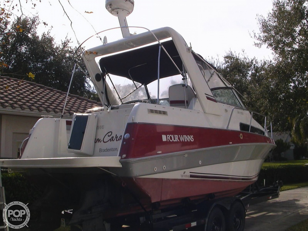 1991 Four Winns boat for sale, model of the boat is 265 Vista & Image # 3 of 40