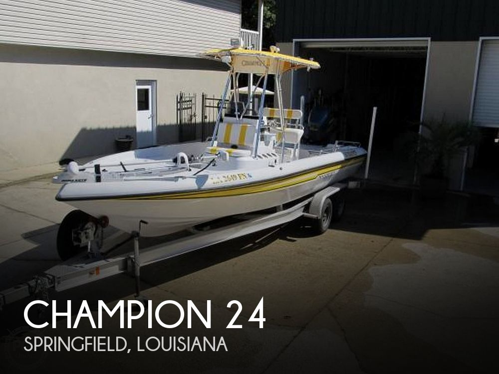 Used Champion Boats For Sale by owner   2006 Champion 24