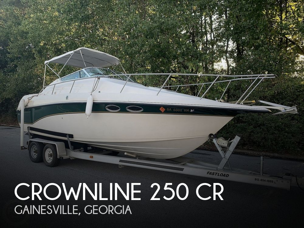 Used Crownline Boats For Sale in Georgia by owner | 1997 Crownline 25