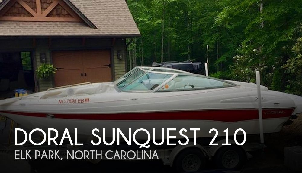 Used Ski Boats For Sale in Kingsport, Tennessee by owner | 2005 Doral Sunquest 210