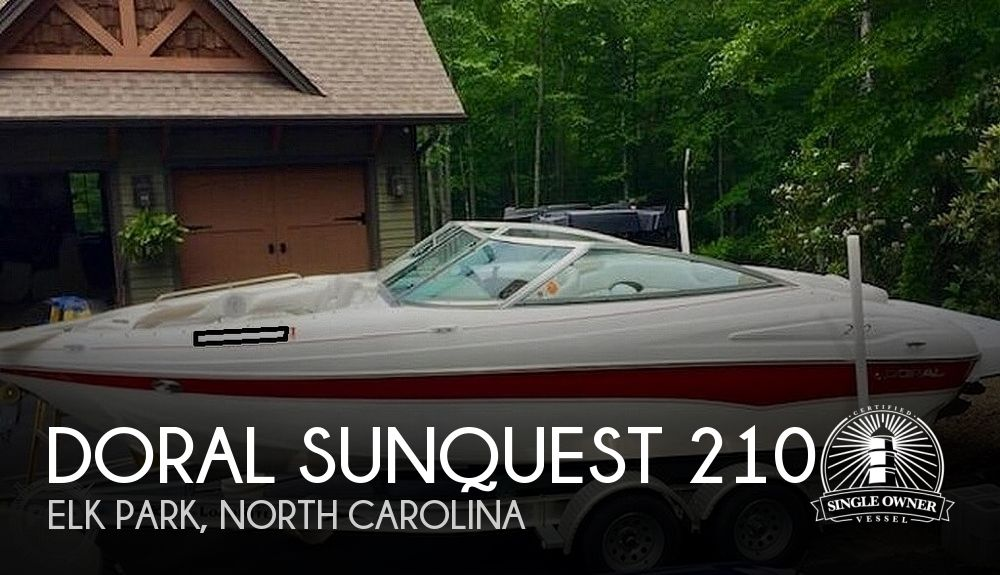 2005 Doral International boat for sale, model of the boat is Sunquest 210 & Image # 1 of 18