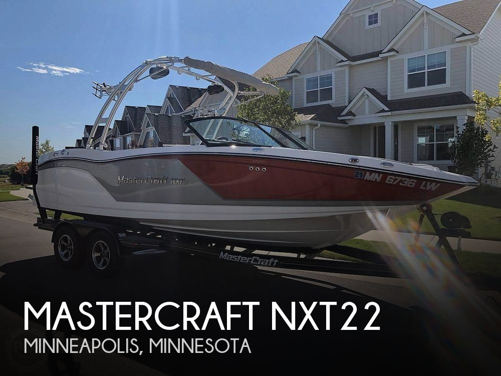 Used Boats For Sale in Minnesota by owner | 2017 Mastercraft NXT22