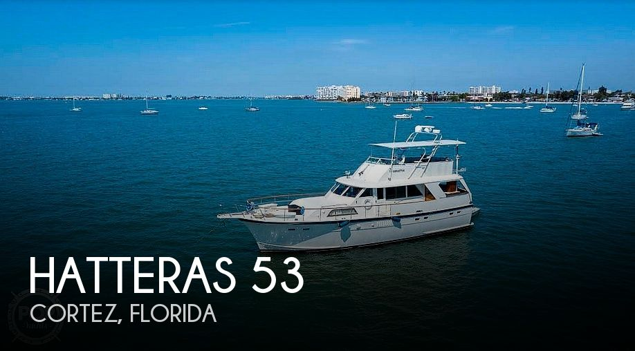 Used HATTERAS Motoryachts For Sale by owner   1975 Hatteras 53