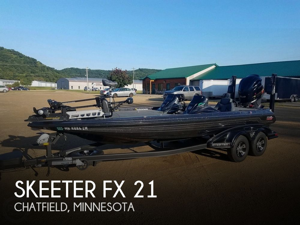Used Boats For Sale in Minnesota by owner | 2017 Skeeter 21