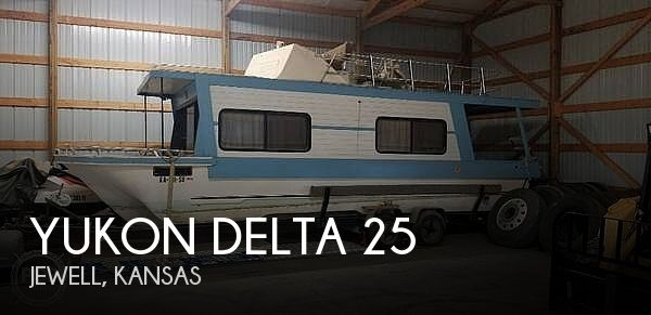 Used Houseboats For Sale in Kansas by owner | 1978 Delta Yukon Delta 25