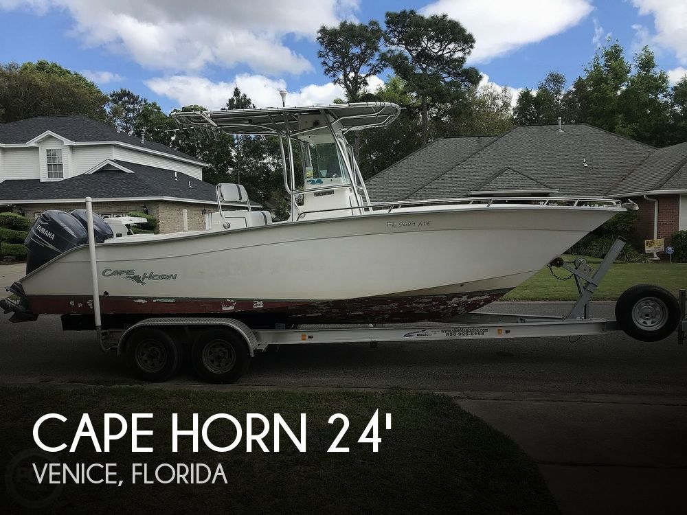Used CAPE HORN Boats For Sale by owner | 2005 Cape Horn 24 Offshore