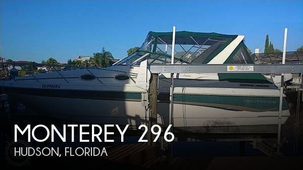 1997 Monterey boat for sale, model of the boat is 296 & Image # 1 of 39