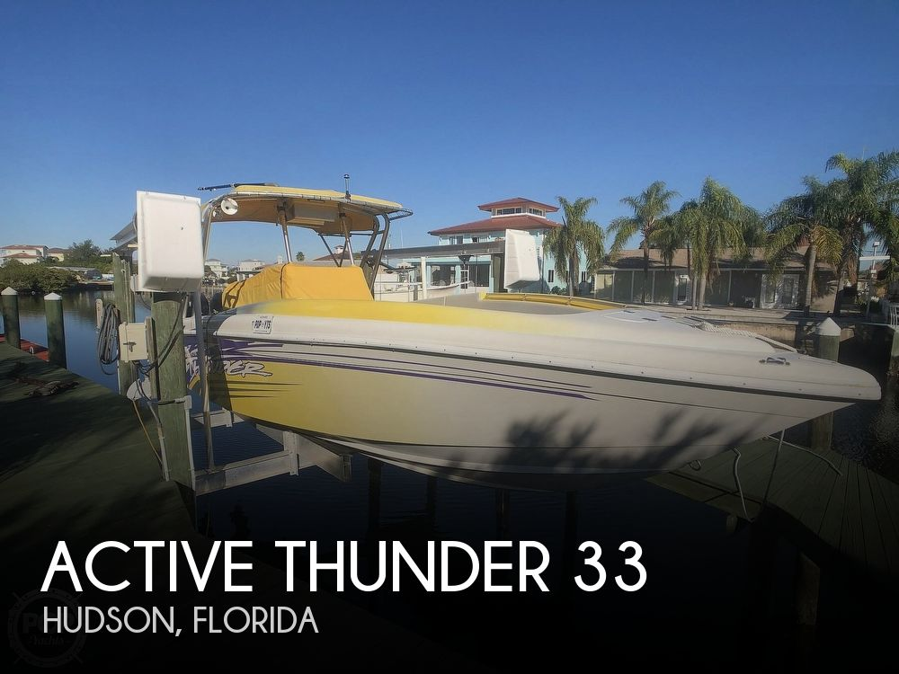 Used Active Thunder Boats For Sale by owner | 1999 Active Thunder 33