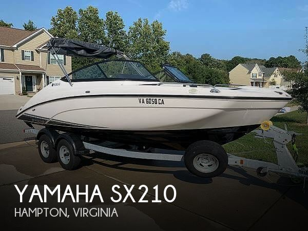 Used Yamaha Ski Boats For Sale by owner | 2018 Yamaha SX210