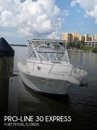 Used Pro-Line Boats For Sale by owner | 2001 Pro-Line 30 Express