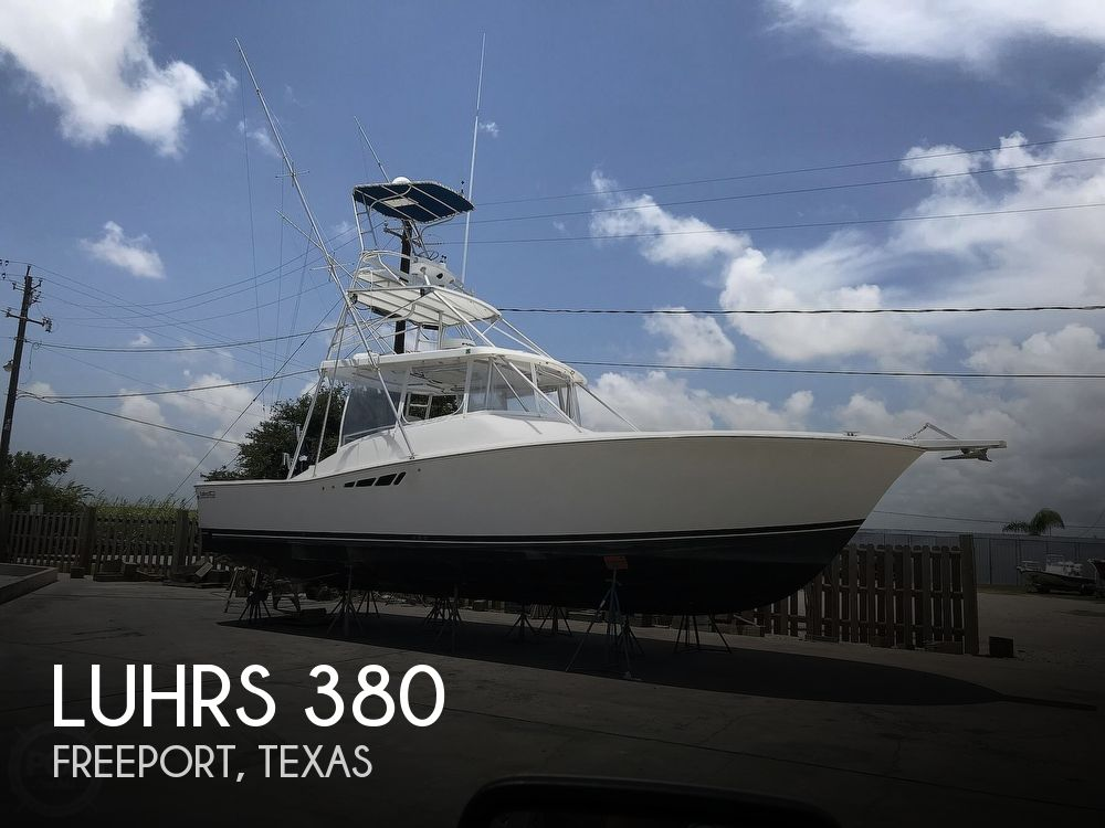 1993 Luhrs boat for sale, model of the boat is 380 Tournament & Image # 1 of 40