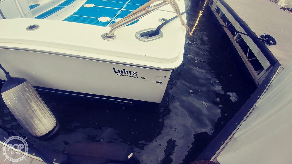1993 Luhrs boat for sale, model of the boat is 380 Tournament & Image # 14 of 40