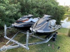 2013 Yamaha 2013 Yamaha VX Deluxe and & 2012 Sea Doo GTI SE - #1