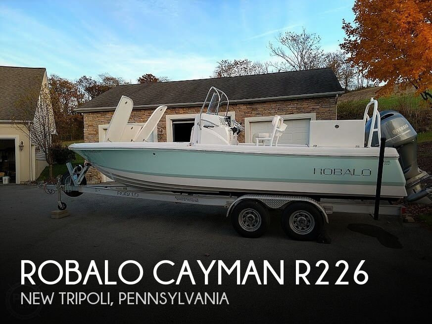 Used Boats For Sale in Allentown, Pennsylvania by owner | 2017 Robalo Cayman R226