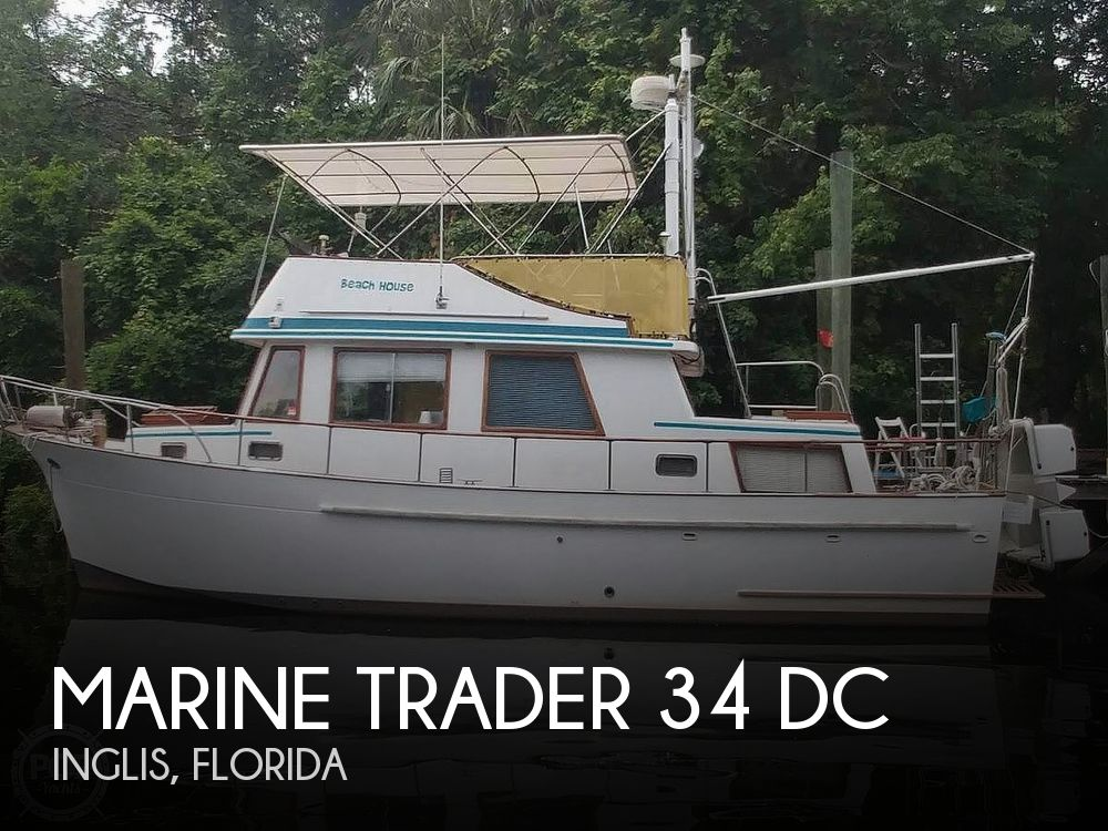 1980 MARINE TRADER 34 DC for sale