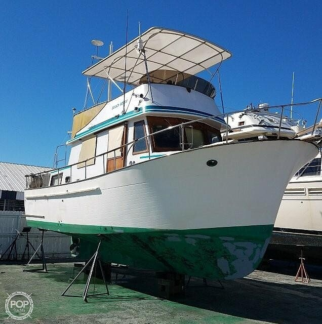 1980 Marine Trader boat for sale, model of the boat is 34 DC & Image # 2 of 40