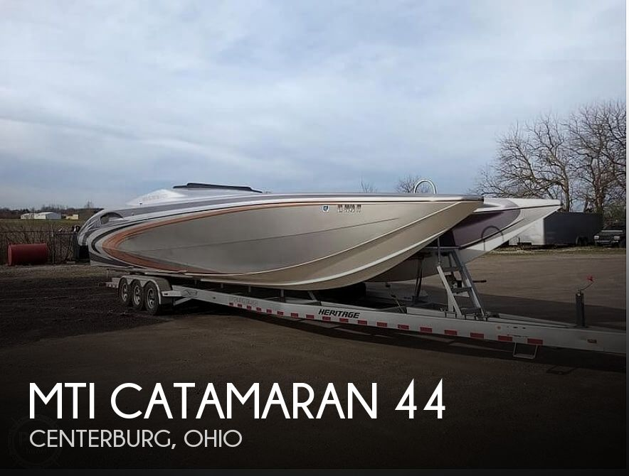 Used Power boats For Sale in Ohio by owner | 2007 MTI Catamaran 44