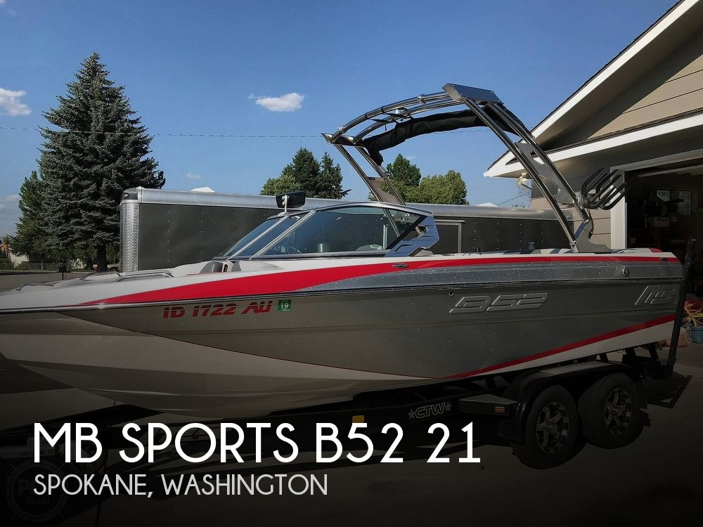 Used Ski Boats For Sale in Washington by owner | 2014 MB Sports B52