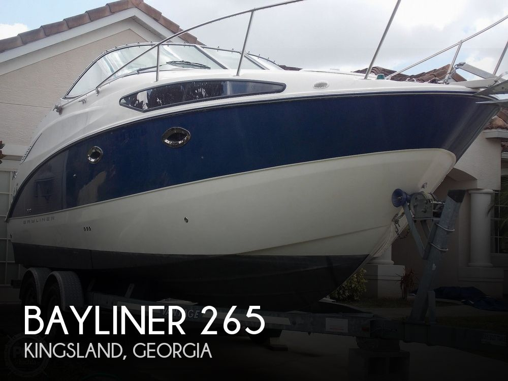 Used Bayliner Boats For Sale in Georgia by owner | 2007 Bayliner 265