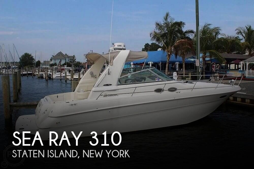 1999 Sea Ray boat for sale, model of the boat is 310 Sundancer & Image # 1 of 40