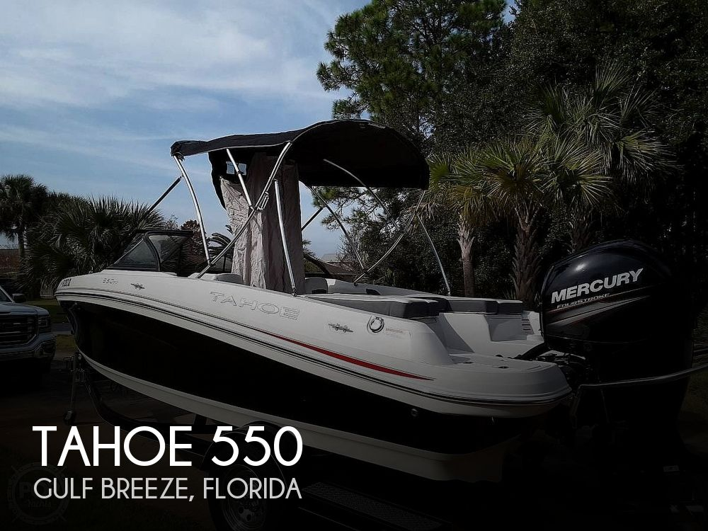 Used Tahoe Boats For Sale by owner | 2016 Tahoe 550