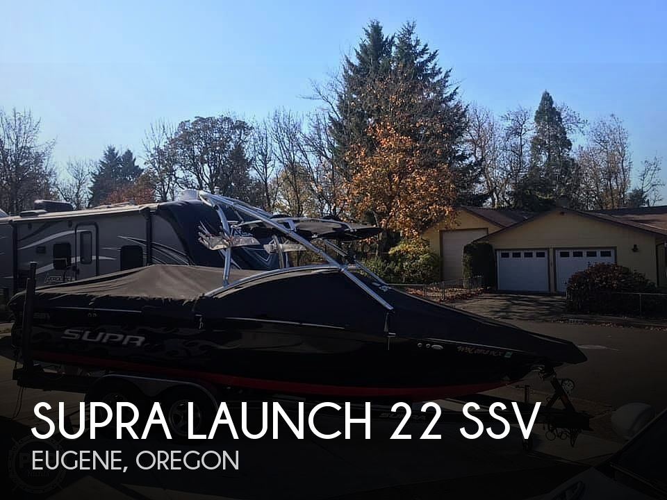 Used Power boats For Sale in Eugene, Oregon by owner | 2008 Supra Launch 22ssv
