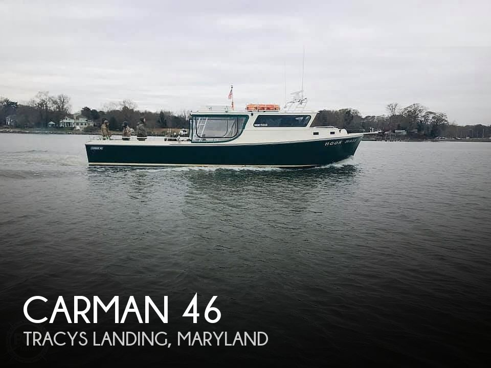 Used Boats For Sale in Salisbury, Maryland by owner | 2001 Carman 46