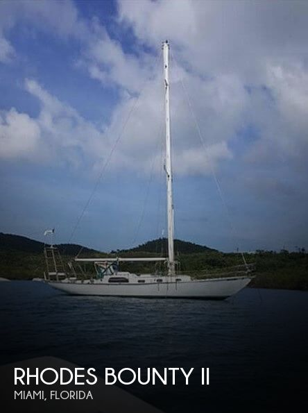 Used Rhodes Boats For Sale by owner   1957 41 foot Rhodes Bounty Ii