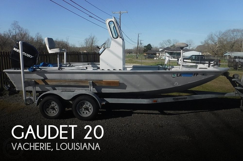2006 Gaudet boat for sale, model of the boat is 20 & Image # 1 of 41