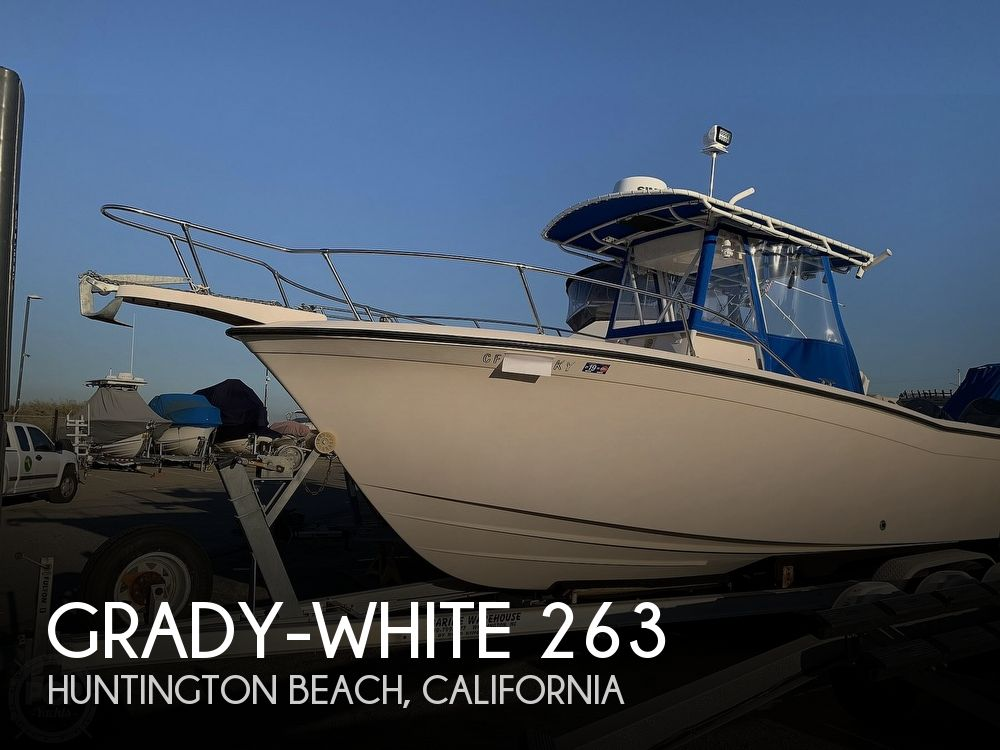 1998 GRADY WHITE 263 CHASE for sale