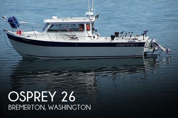 Used Osprey Boats For Sale in Washington by owner | 2006 Osprey 26