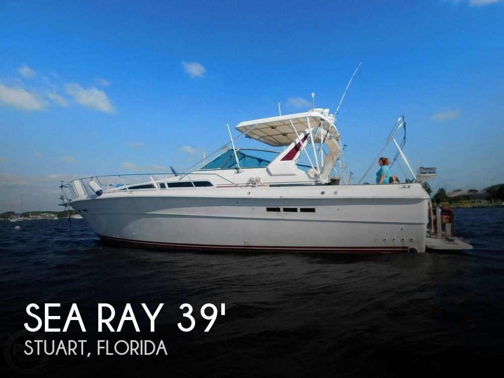 1985 Sea Ray boat for sale, model of the boat is 390 Express Cruiser & Image # 1 of 40
