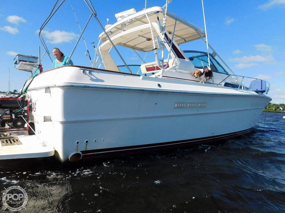 1985 Sea Ray boat for sale, model of the boat is 390 Express Cruiser & Image # 23 of 40