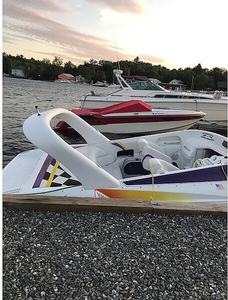 2002 Sunsation boat for sale, model of the boat is 288 Intimidator & Image # 3 of 15