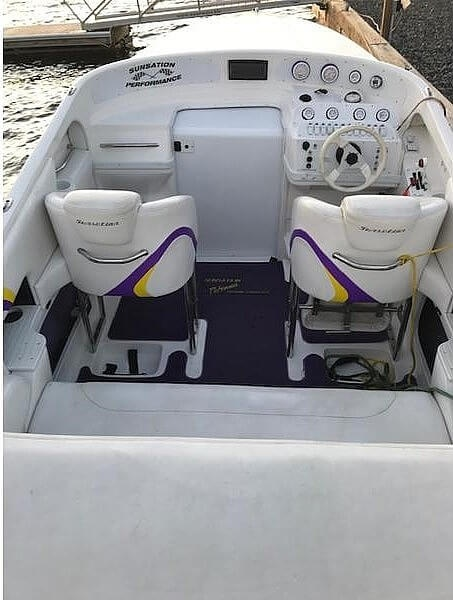2002 Sunsation boat for sale, model of the boat is 288 Intimidator & Image # 7 of 15