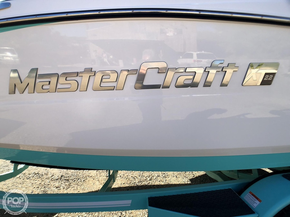 2019 Mastercraft boat for sale, model of the boat is XT22 & Image # 6 of 40