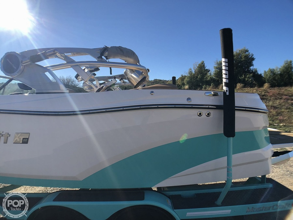 2019 Mastercraft boat for sale, model of the boat is XT22 & Image # 31 of 40