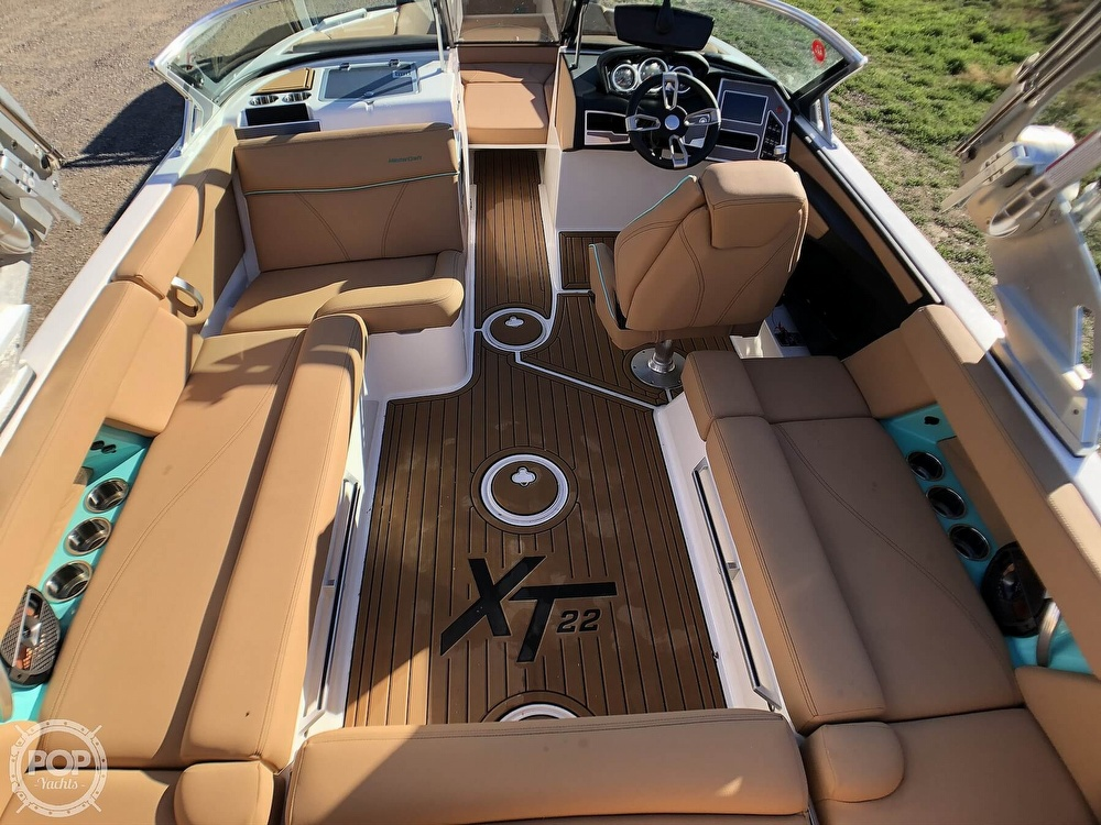 2019 Mastercraft boat for sale, model of the boat is XT22 & Image # 15 of 40