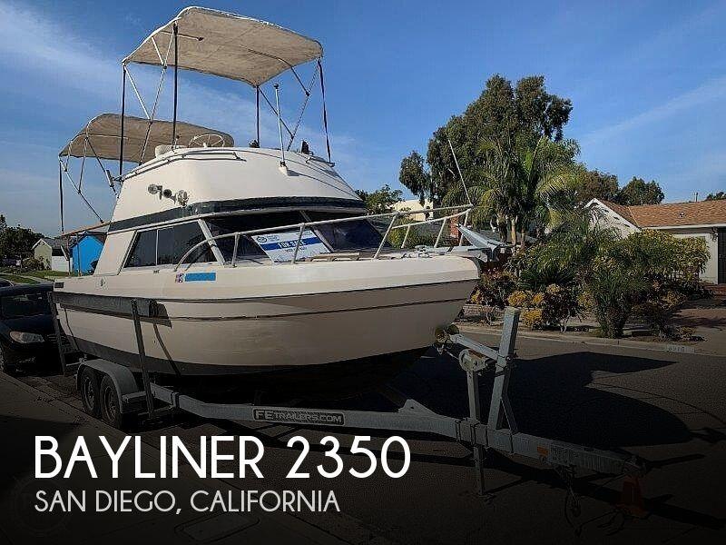 1977 BAYLINER 2350 NISQUALLY for sale