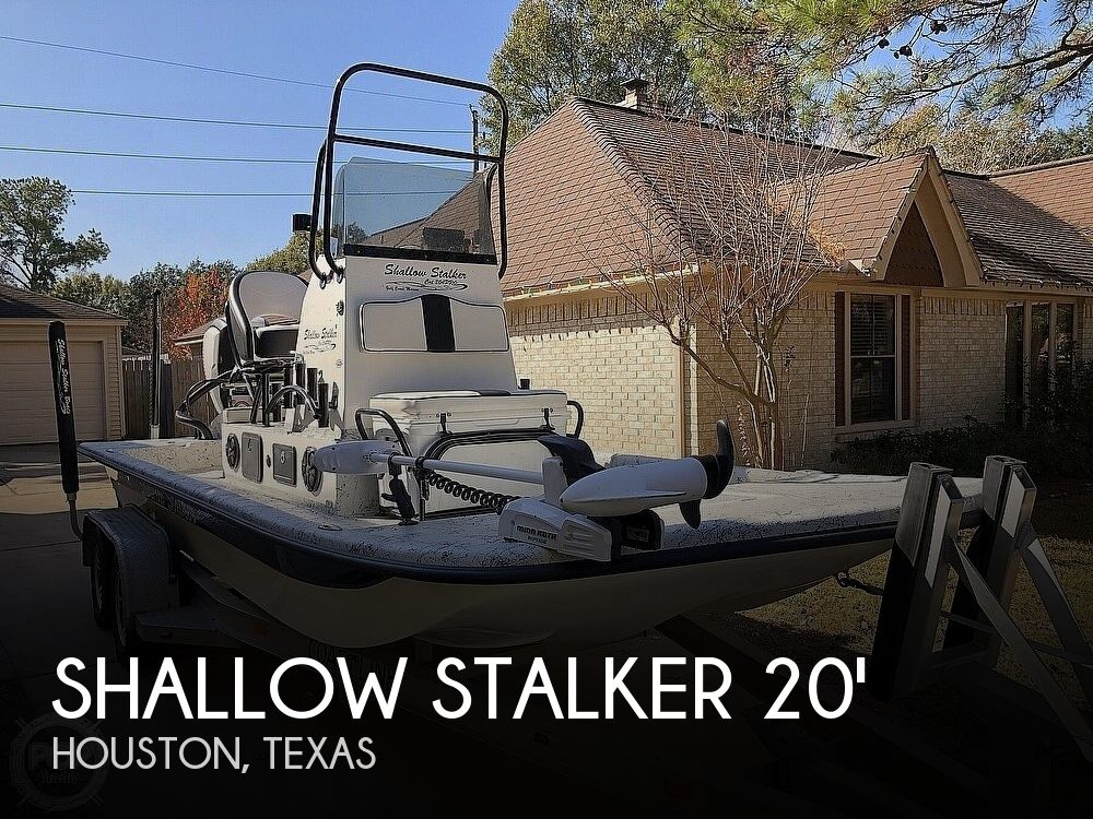 2018 Shallow Stalker boat for sale, model of the boat is Cat 204 Pro & Image # 1 of 40