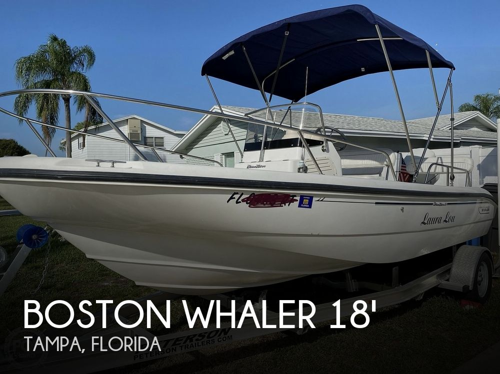 2000 Boston Whaler boat for sale, model of the boat is 18 Dauntless & Image # 1 of 40
