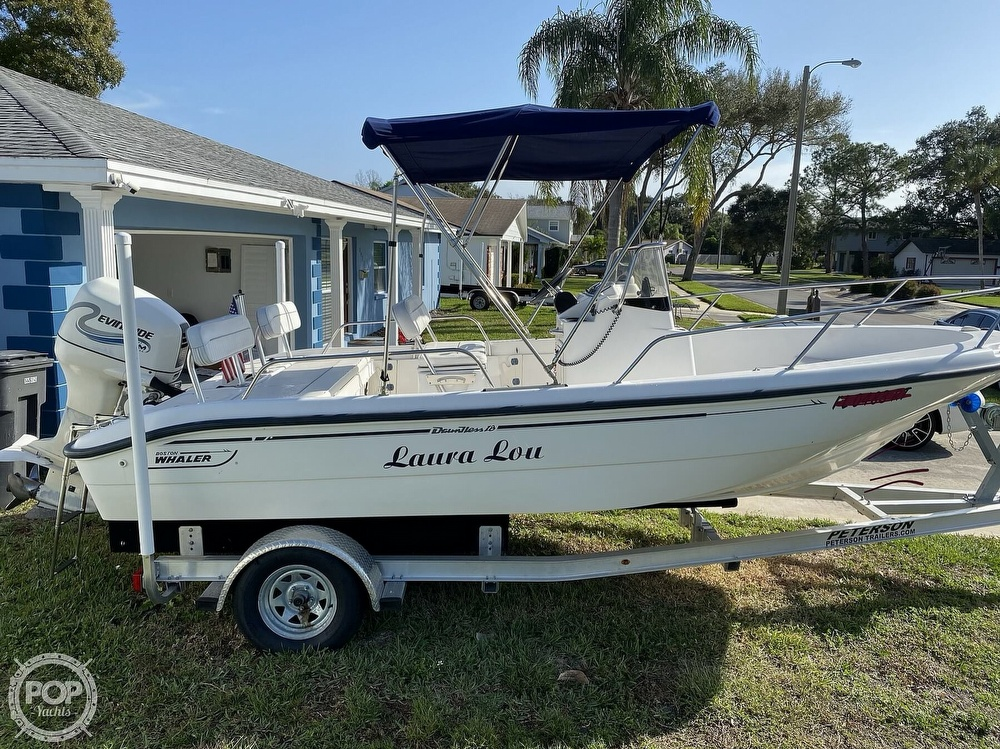2000 Boston Whaler boat for sale, model of the boat is 18 Dauntless & Image # 3 of 40